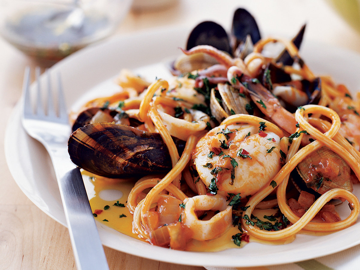 Recipe Sea Food Pasta