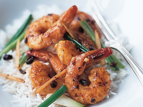 Shrimp in Black Bean Sauce