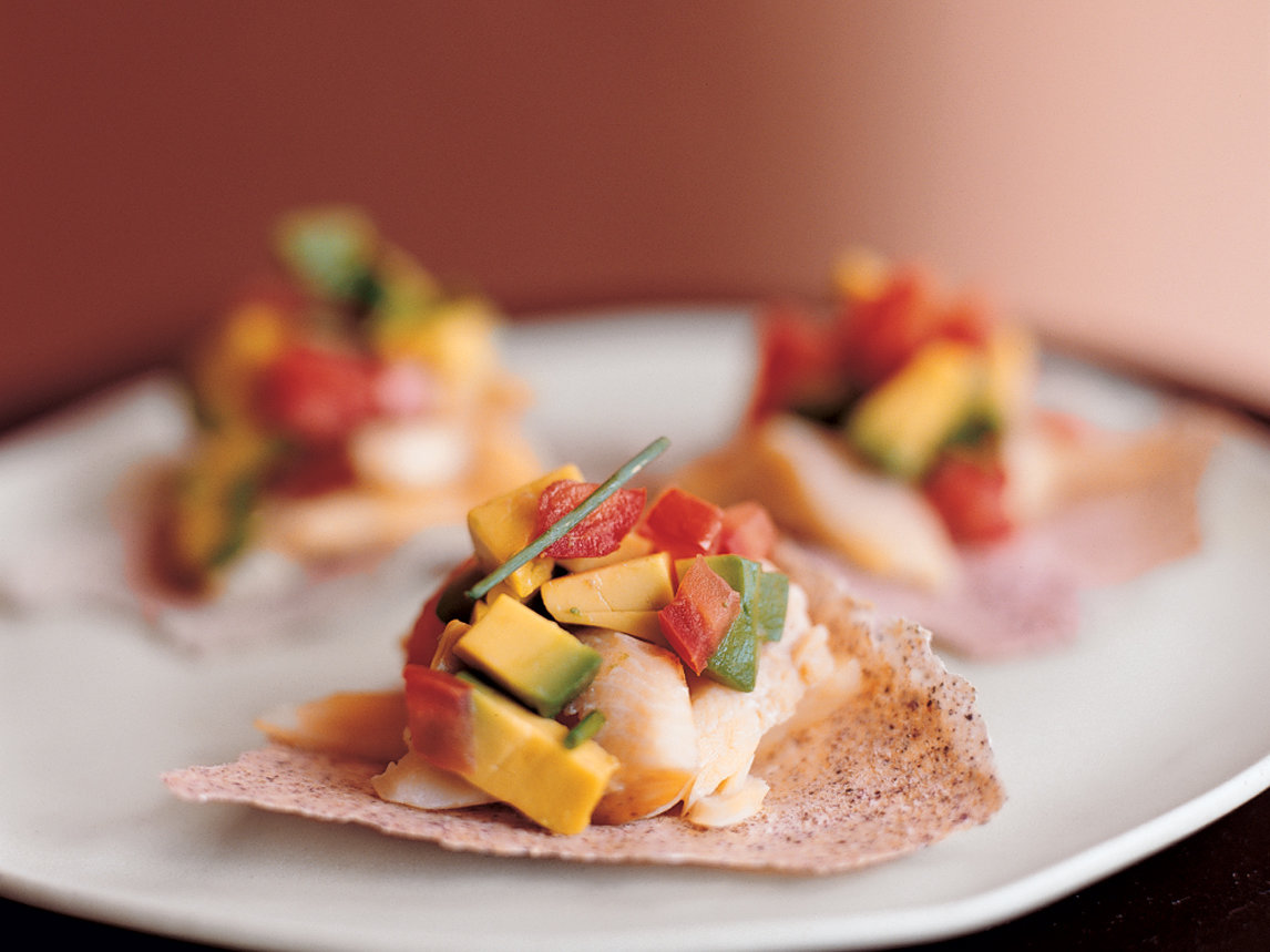 Smoked Trout Tostadas