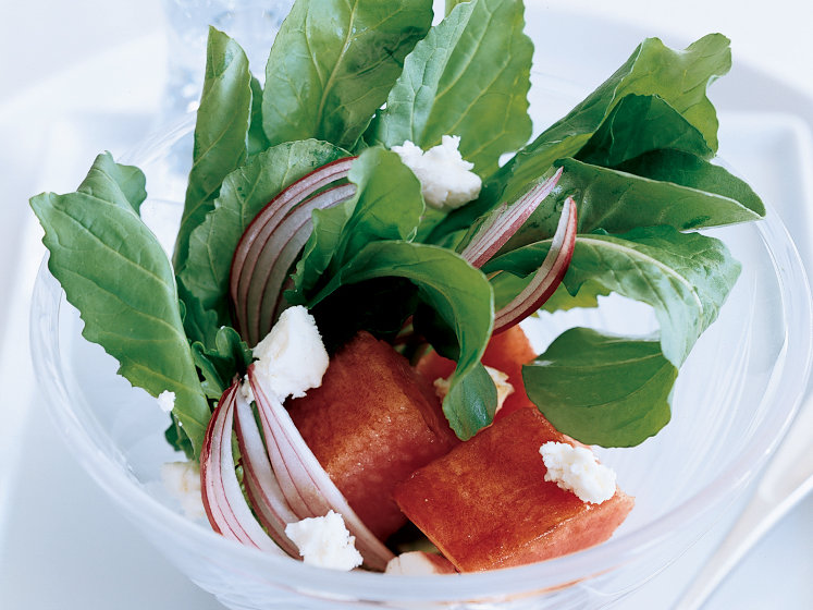 Watermelon-Arugula Salad