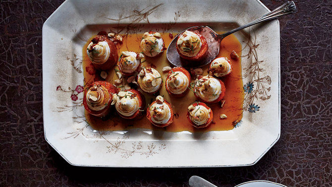 Food & Wine: Sweet Potatoes with Toasted Marshmallow Swirls