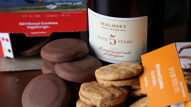 Food & Wine: Girl Scout Cookies Wine Pairings