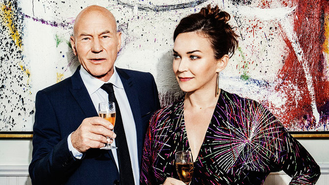 Food & Wine: Patrick Stewart and Sunny Ozell