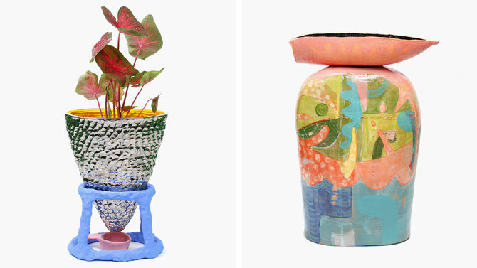Food & Wine: New York artists create indoor perennials for The Plant Show