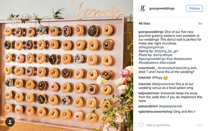 Donut Walls Are Now A Thing At Weddings Food Amp Wine