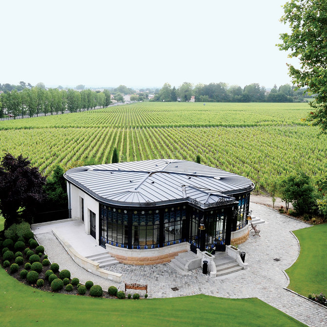 Food & Wine: Chateau Pape Clement