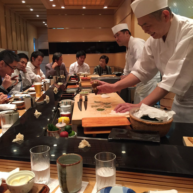 Food & Wine: Chef Tyson Cole in Japan