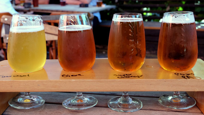 Food & Wine: Pomeroy's Beer Flight