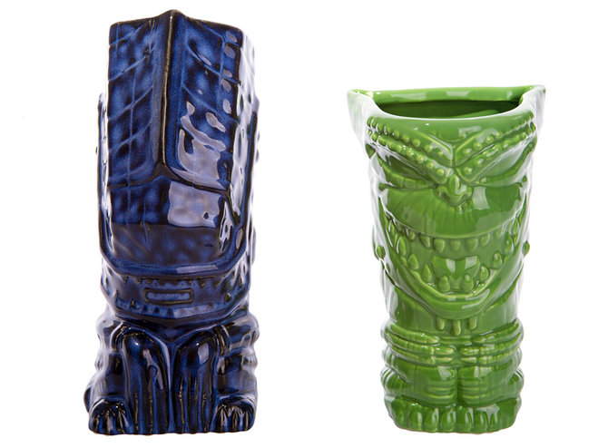 Food & Wine: tiki cups