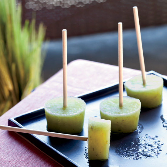Food & Wine: Cucumber-Lime Pops with Gin