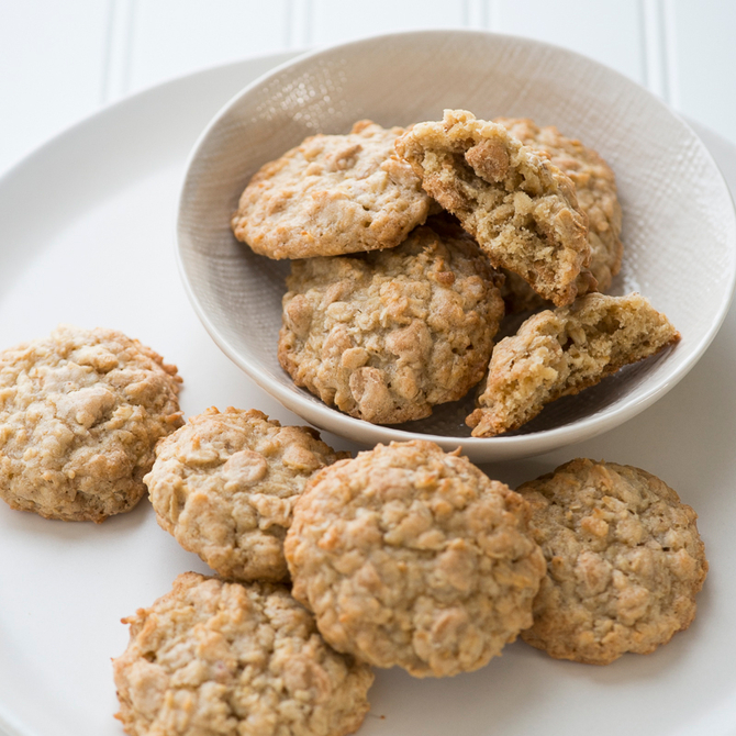Food & Wine: Oatmeal Cookies with Peanut Butter chips