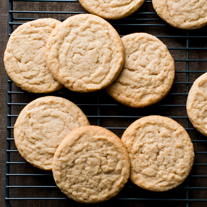 Food & Wine: Soft Chewy Peanut Butter Cookies