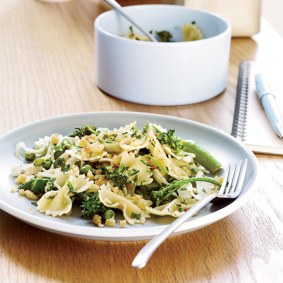 farfalle with spring vegetables