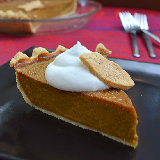 This luscious pumpkin pie is light (almost soufflé-ish), with a flaky ...