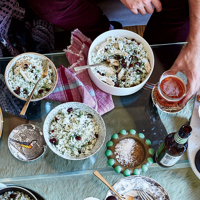 Food & Wine: Basmati Rice with Dill and Barberries