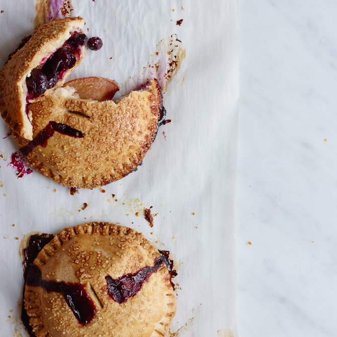 Food & Wine: Blueberry-and-Nectarine Hand Pies