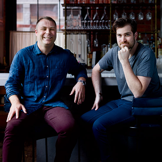 Food & Wine: Michael Fojtasek and Grae Nonas