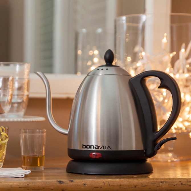 Food & Wine: Bonavita Electric Gooseneck Kettle