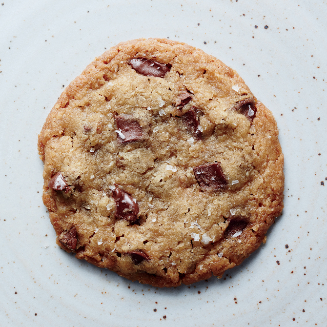 Food & Wine: Chocolate Chunk Cookie for One
