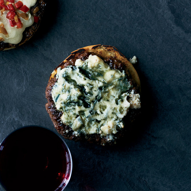 Food & Wine: Classic Blue Cheese Burgers