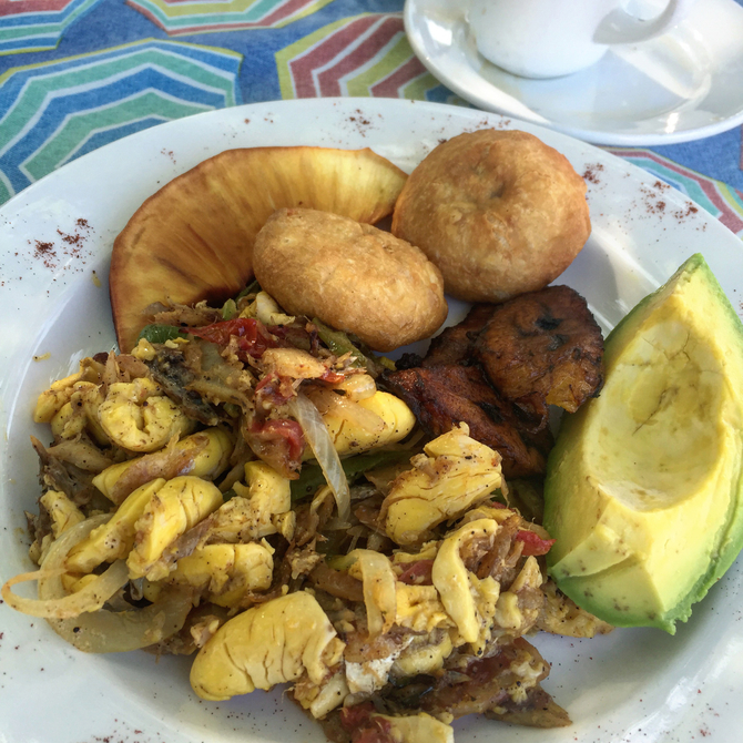 Food & Wine: Awesome Ackee at Jake's
