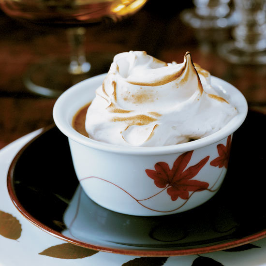 Food & Wine: Pumpking Pudding with Mile-High Meringue