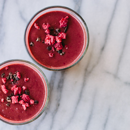 Food & Wine: Beet-Cacao Smoothie