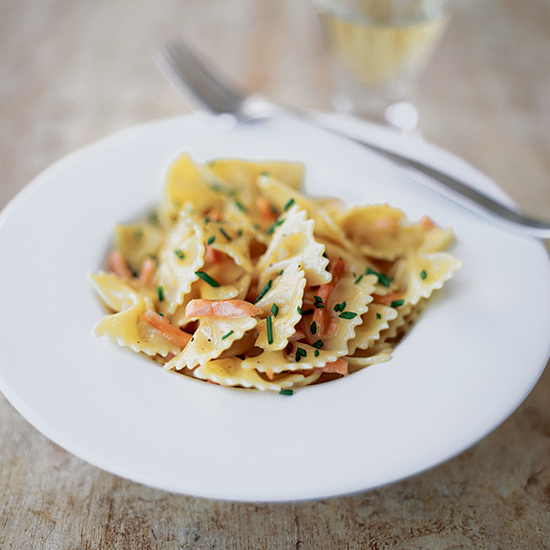 Food & Wine: Farfalle with Creamy Smoked Salmon and Vodka Sauce
