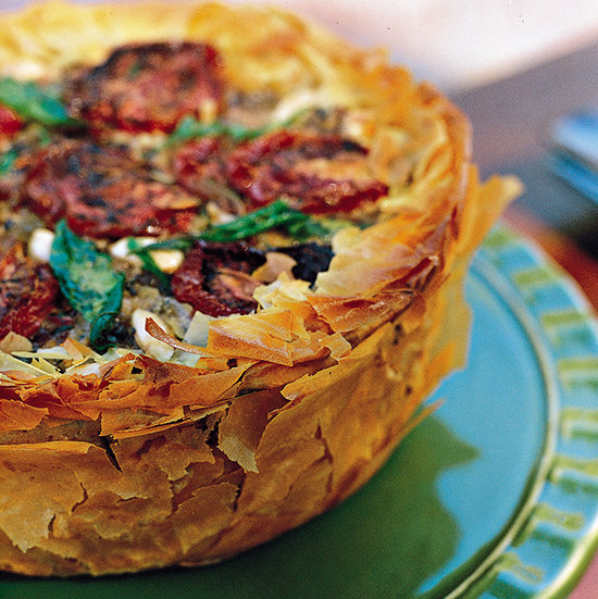 Food & Wine: Middle Eastern Phyllo Rice Torte