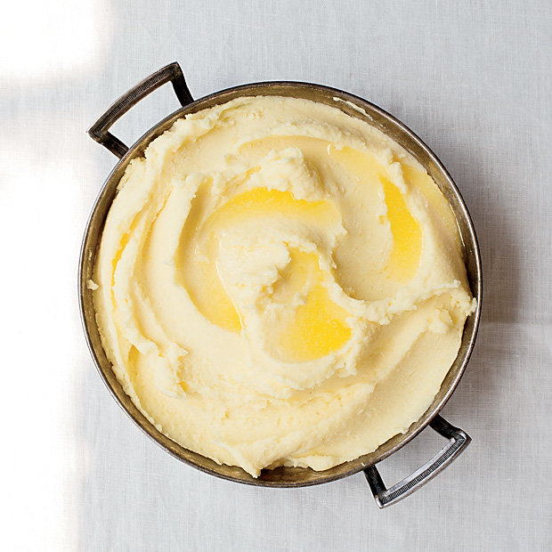 Food & Wine: Mashed Potatoes, Kind of Bobuchon-Style