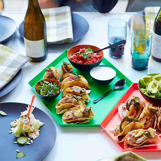 Food & Wine: Double Decker Dr Pepper Chicken Tacos