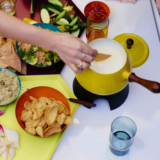 Food & Wine: Three Queso Dip