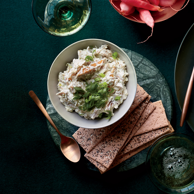Food & Wine: Smoked Trout-Caraway Rillettes
