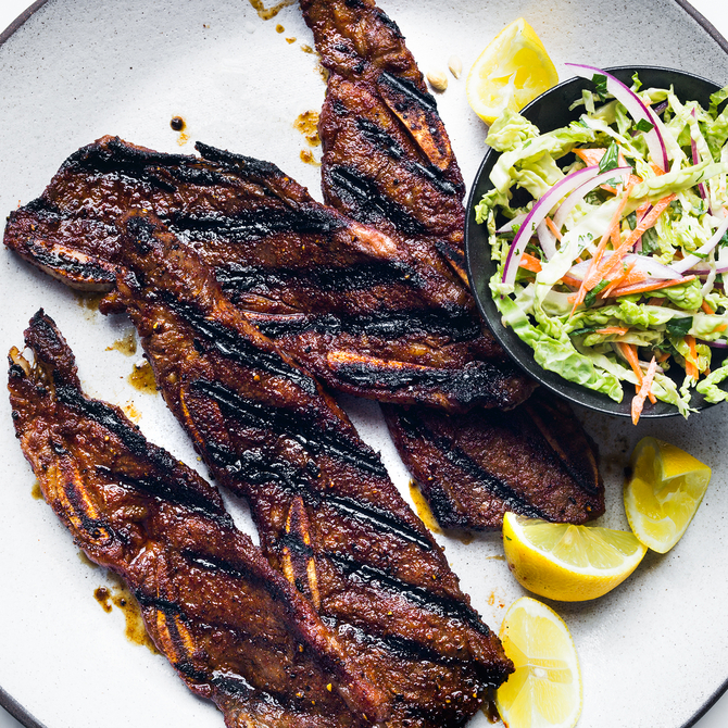 Food & Wine: Grilled Short Ribs