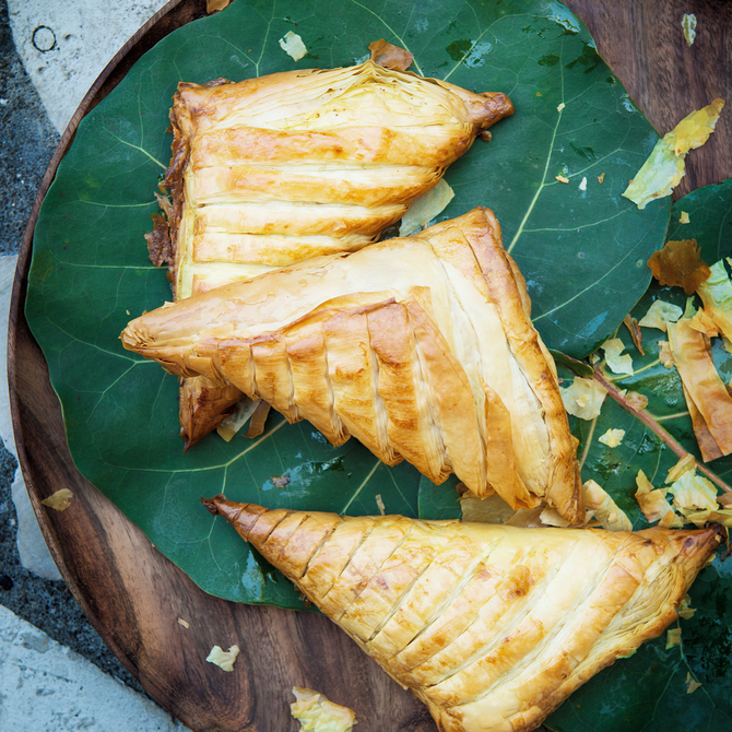 Food & Wine: Jamaican Greens-Stuffed Patties