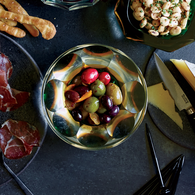 Food & Wine: Marinated Olives with Orange