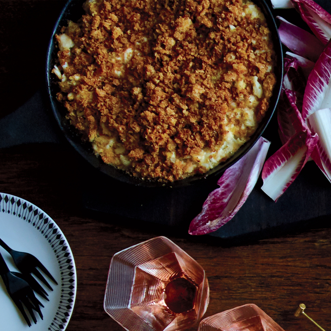 Food & Wine: New England-Style Crab Dip with Brown-Butter Crumbs