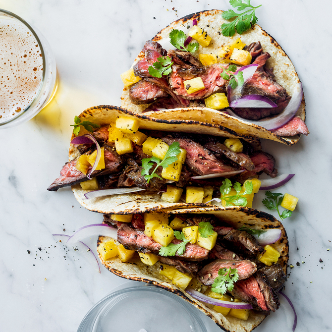 Food & Wine: Steak Tacos