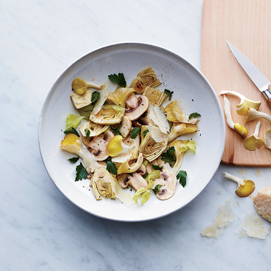 Food & Wine: Shaved Baby Artichoke and Marinated Mushroom Salad