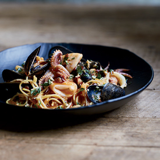 Food & Wine: Spicy Fideos with Mussels and Calamari