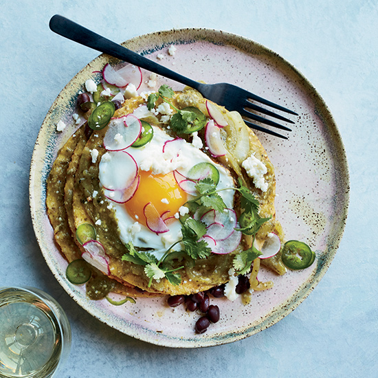 Food & Wine: Tostada Chilaquiles