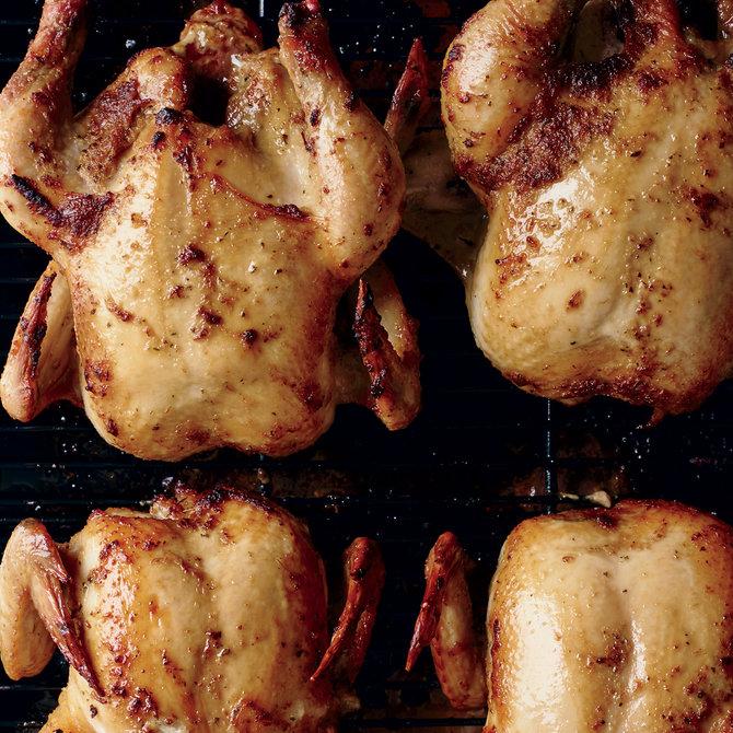 Food & Wine: Roast Hen with Yassa Marinade