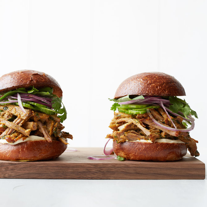 Food & Wine: Thai-Style Pulled Pork Sandwiches