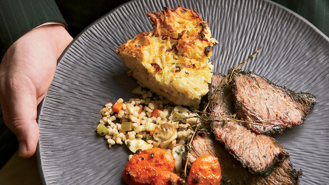 Food & Wine: Baked potato kugel