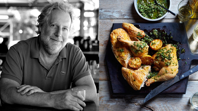 Food & Wine: Jonathan Waxman and his famous roast chicken