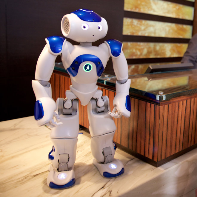 Food & Wine: Connie the Robot
