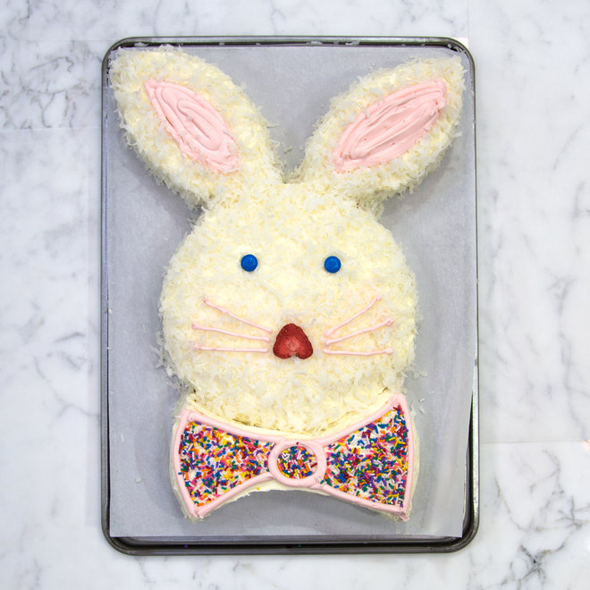 Easter Bunny Cake Without Coconut
