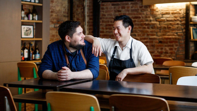Food & Wine: Jeremiah Stone and Fabian Von Hauske