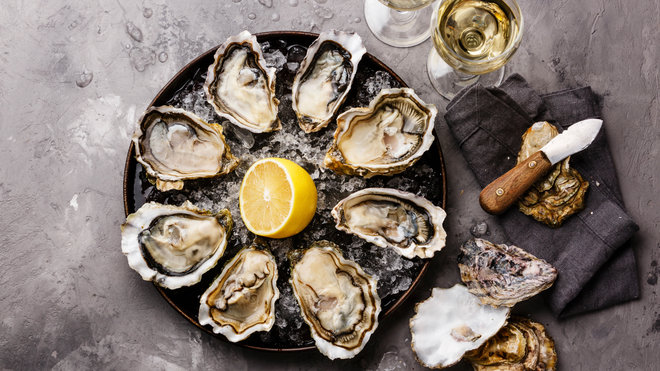 Food & Wine: Oyster and Wine Pairings