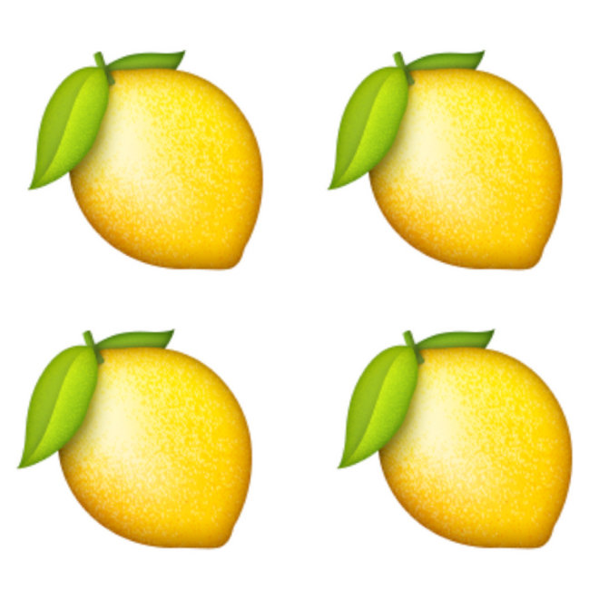 Food & Wine: Beyonce Lemon Emoji
